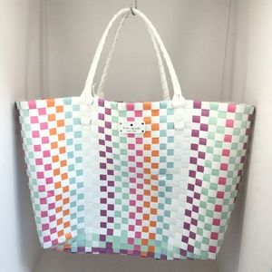 Kate Spade Limited Edition Woven Tote Bag